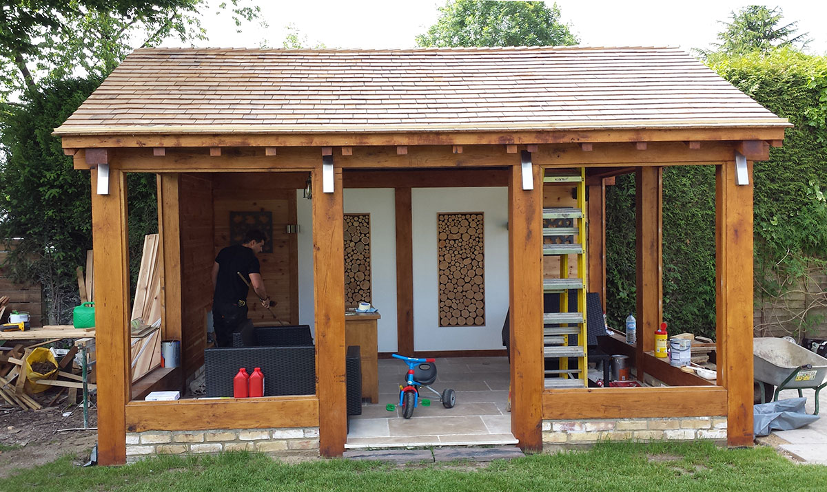 Projects garden house